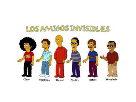 Los Amigos Invisibles Merengue killa - YouTube