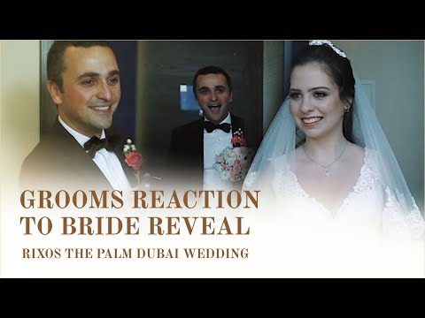 Rixos The Palm Dubai Wedding Videography - Grooms Reaction to Bride Reveal - Morning Jacket Films from YouTube · Duration:  4 minutes 17 seconds