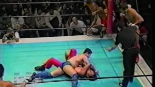 Takeshi Ono/Usuda/Tanaka vs. Daisuke Ikeda/Yoneyama/Otsuka (BattlARTS 12/26/1996)