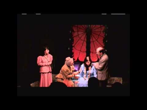 Scene from Steven Dietz's DRACULA performed by Volcano Theatre Company