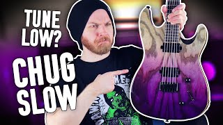 Does Down Tuning Really Make Riffs Heavier?