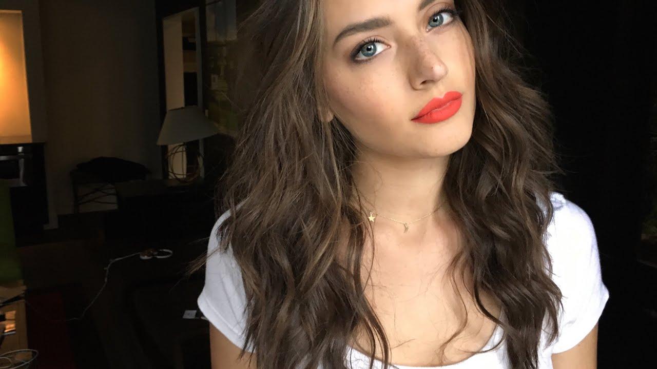 Beachy Hair Tutorial Jessica Clements Youtube