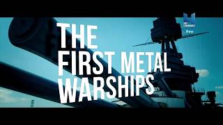 Первые металлические военные корабли. Самые малые военные корабли. Боевые корабли (2018) 4K