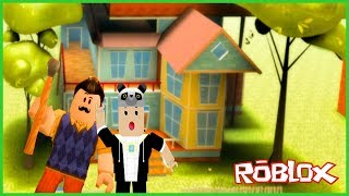 Escape From Neighbor's House - ROBLOX Hello Neighbor