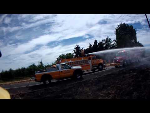 NHFD Brush Fire