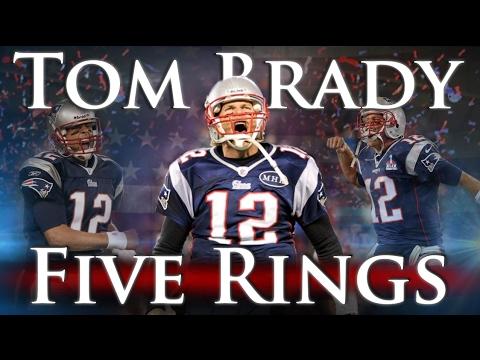 Tom Brady Wallpaper Quote Tom Brady Five Rings Patriots