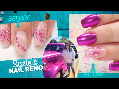 I Match My Clients Nails to a Car😍 -  Suzie's Nail Reno #2