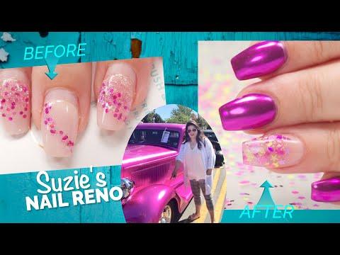 I Match My Clients Nails To A Car😍 -  Suzie's Nail Reno #2