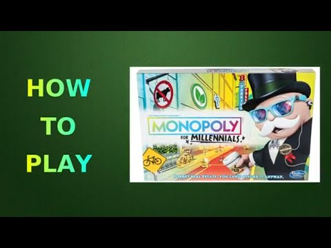 How To Play Monopoly For Millennials Board Game