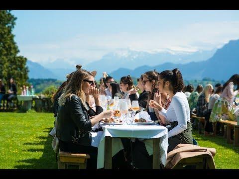 VILLA NOMAD | THE BIGGEST BLOGGER EVENT IN SWITZERLAND | brunch in lucerne