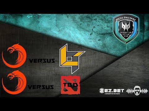 [DOTA 2 LIVE PH] TnC Predator VS TBD | Bo3| Asia Pacific Predator League 2019