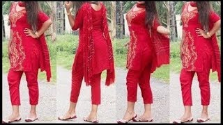 Latest Punjabi Suit With Palazzo Pant/New Designs In Palazzo Suits/Latest Punjabi Suit Designs 2017
