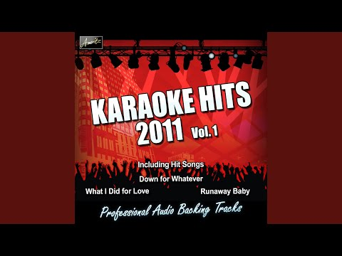 What I Did For Love (In The Style Of Glee) (Karaoke Version)