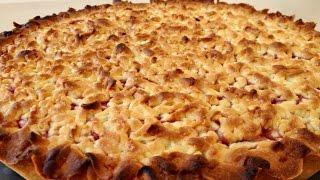 Тертый Пирог с Вареньем или Повидлом Вкусно и Быстро | Homemade Pie, English Subtitles
