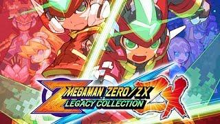 Mega Man Zero / ZX Legacy Collection - Announce Trailer