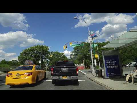 Driving from Fresh Meadows in Queens to Valley Stream in Nassau,New York