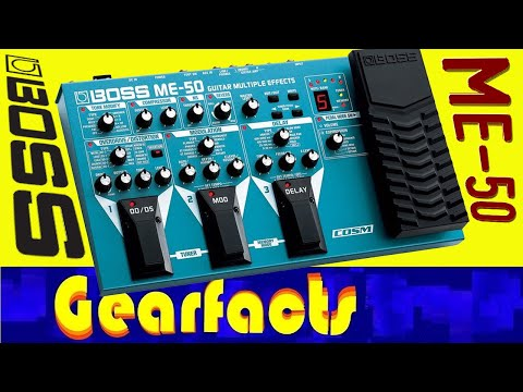 boss me 50 multi effects pedal review 1 important point youtube rh youtube com Guitar Processor Boss Me 50 manual de instrucciones pedalera boss me 50