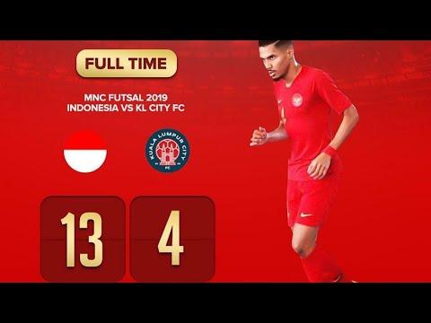 Indonesia 🇮🇩 (13) Vs (4) 🇲🇾 KL City •[HIGHLIGHT]• MNC Futsal Championship