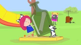 Мультики - Смарта и Чудо-сумка - Карта сокровищ - Развивающие мультфильмы