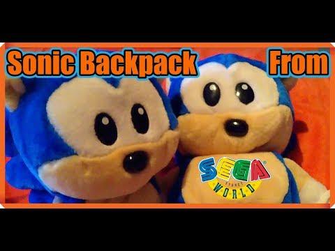 Sega World Sydney Sonic Backpack Review