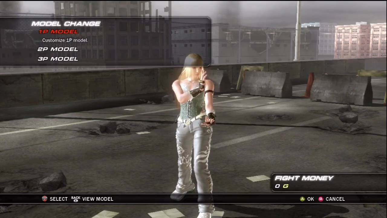 Tekken 6 Xbox 360 Female Character Selection Youtube