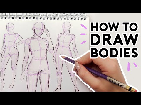 HOW TO DRAW BODIES | Drawing Tutorial