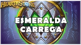 HEARTHSTONE - ESMERALDA CARREGA! (STANDARD SECRET HUNTER)