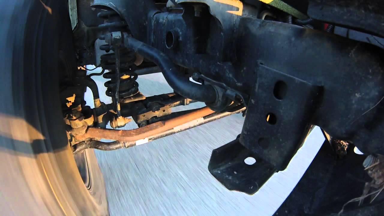 Amazing Jeep Wrangler JK Death Wobble HD 60FPS