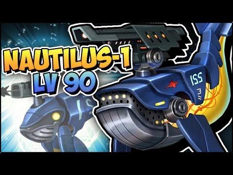 NAUTILUS-1 (LV 90) COMBATES PVP - Monster Legends Review