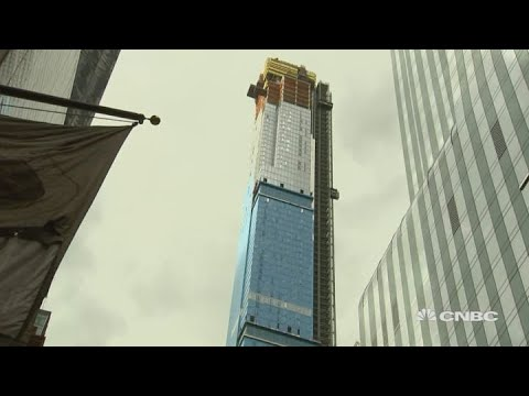 Central Park tower now tallest residential building in the world