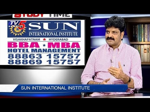 Advantages of Management & Hotel Management Courses   Sun International   Study Time   TV5 News