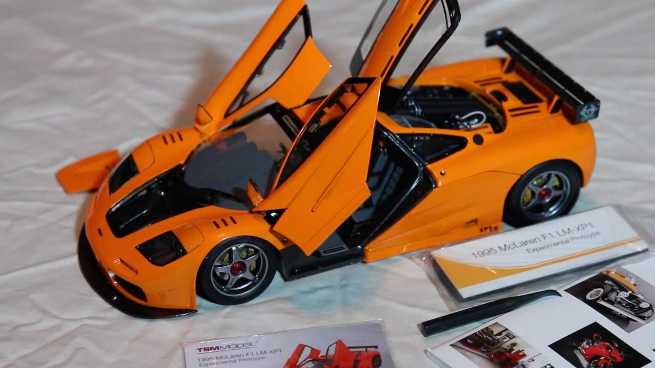 review - 1:18 scale tsm mclaren f1 lm-xp1 - youtube