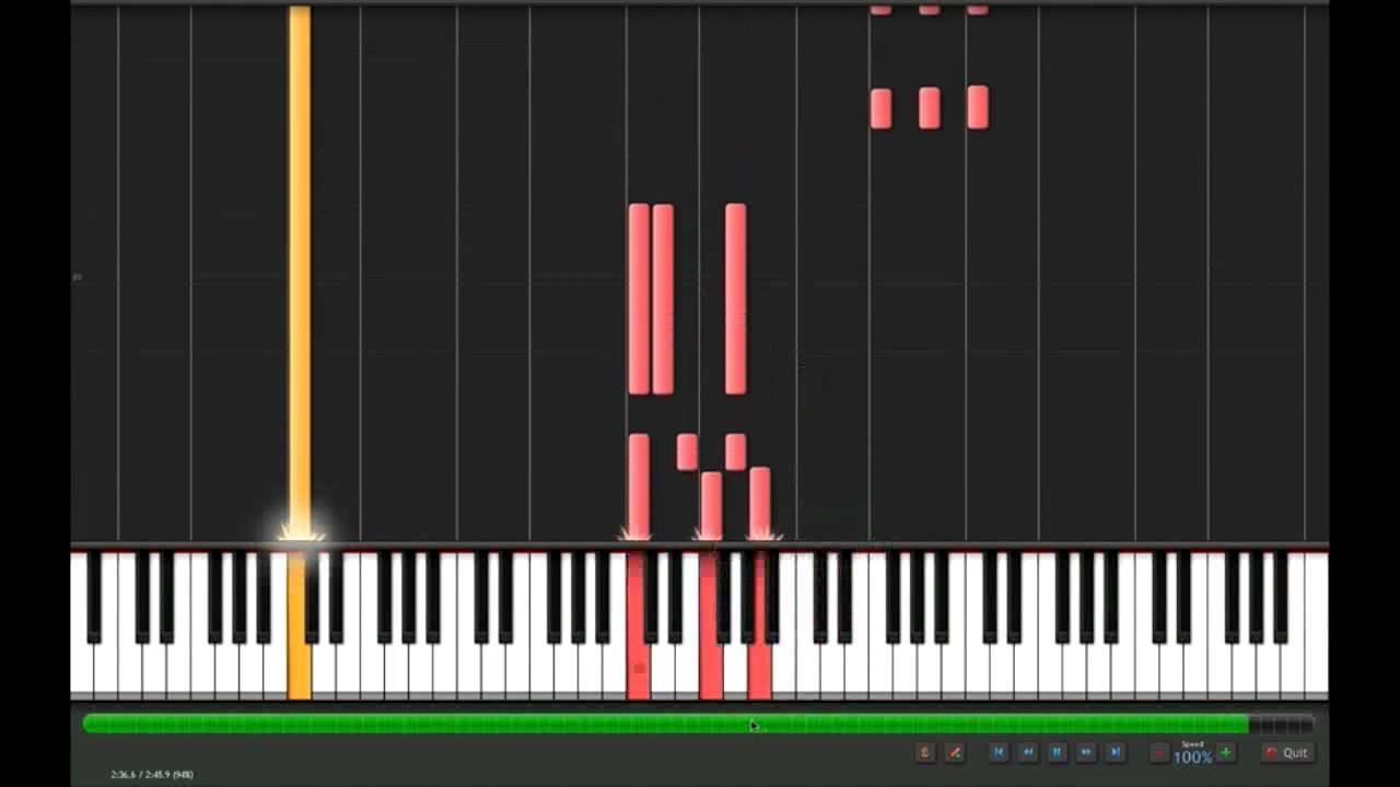 Jump keyboard solo 100 and 50 speed on synthesia youtube jump keyboard solo 100 and 50 speed on synthesia hexwebz Choice Image