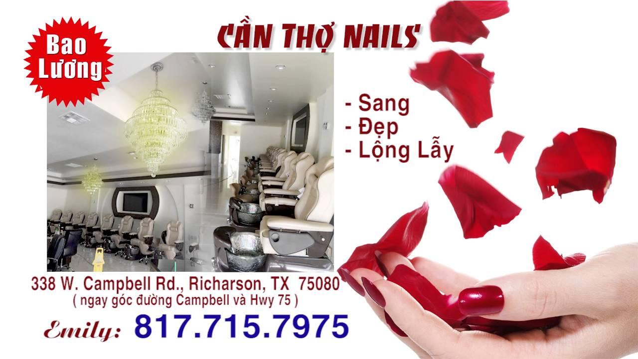 Can Tho Nails Sweet Nails Bar - YouTube