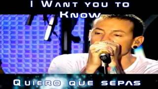 Linkin Park  Leave out all the rest  sub ingles y español