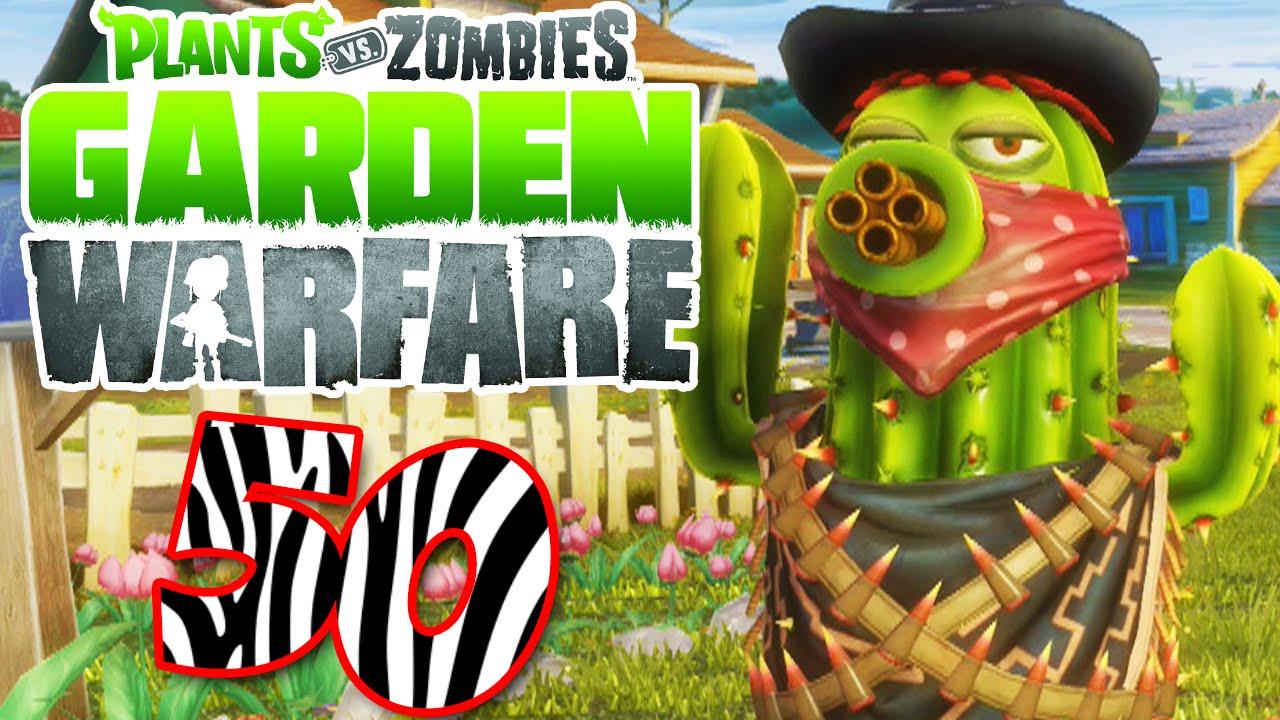 Zombies: Garden Warfare (PS4)   Bandit Cactus!   Episode 50
