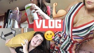 VLOG | Mini Leg Workout & Fitness Chats!!