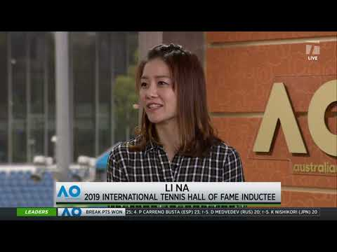 Tennis Channel Live: 2019 Hall Of Fame Inductee Li Na Interview