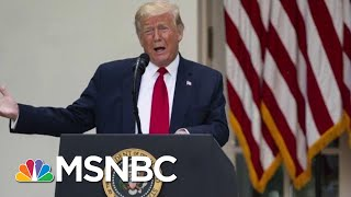 Amid Weekend Protests, Trump Stays Largely Silent | Morning Joe | MSNBC