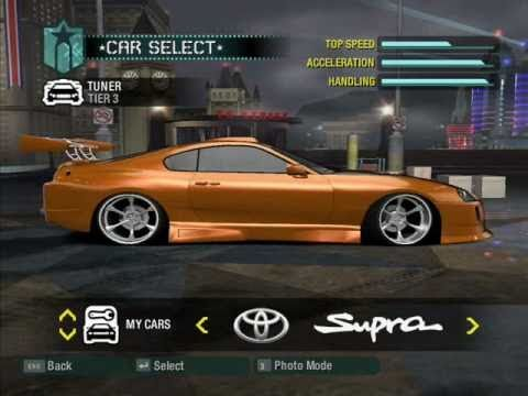 Need For Speed Carbon My Tuning Cars 14 2008 Year Youtube