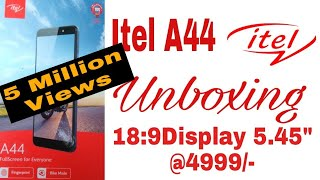 Itel A44 unboxing of a superb phone || Hindi