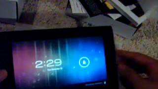Mach Speed Xtreme (Android 4.0 tablet) unboxing: