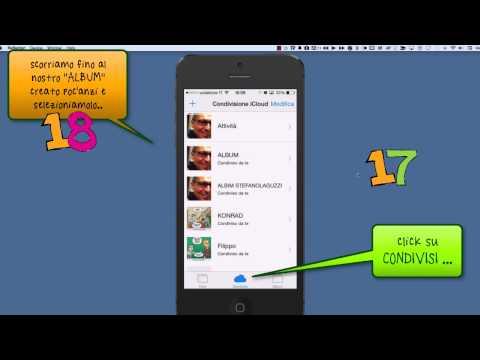 Apple, iPhone; condividere le foto con iCLoud