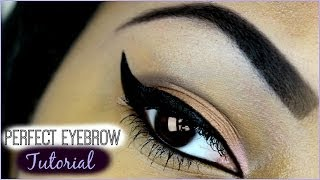 Perfect Eyebrow Tutorial Thumbnail