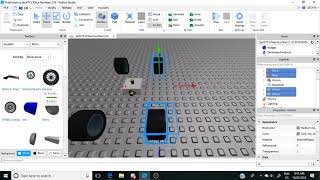Tutorial de Roblox : Cómo poner llantas 3D en el chasis A