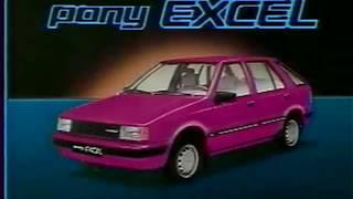 Hyundai Pony Excel 1985 commercial (korea)