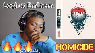 Logic x Eminem - HOMICIDE (REACTION!!)