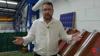 Estructuras coplanares para paneles solares en techos industriales - ALUSÍN SOLAR