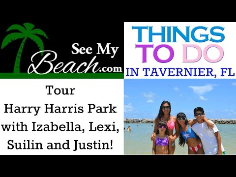 Harry Harris Park in Tavernier by Izabella from SeeMyBeach.com