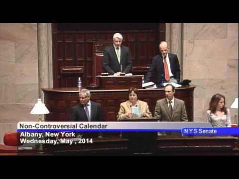 New York State Senate Session - 05/07/14